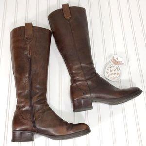 Born Mavis Leather Riding Boots Size 10